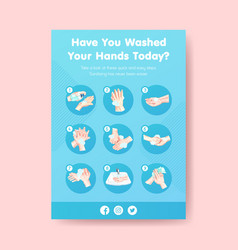 How use hand sanitizer infographic with details vector