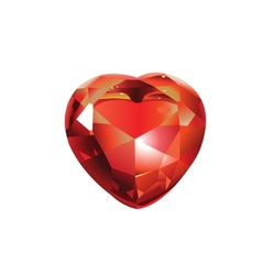 Shiny Valentines Diamond Hearts vector