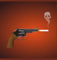 Smoking gun vector