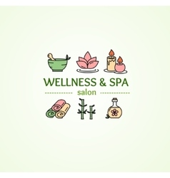 Spa Concept vector image