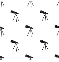 telescope for schools device for astronomy vector image