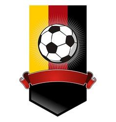 Germany Soccer Championship banner vector image vector image