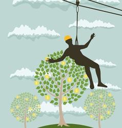 People money tree vector