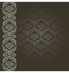 black and gray background vector image vector image