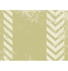 hazard stripes background vector image vector image
