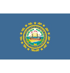 New Hampshire vector image