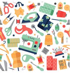Needlework hobby accessories equipment tailoring vector