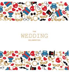 wedding background wedding background vector image