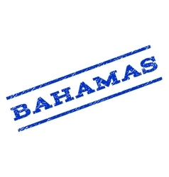 Bahamas Watermark Stamp vector
