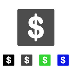 Financial flat icon vector