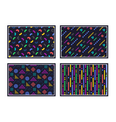 geometric pattern abstract seamless texture vector image