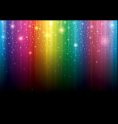 glittering colorful background vector image
