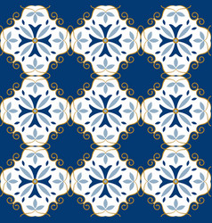 moroccan pattern decor tile texture tiling vector image