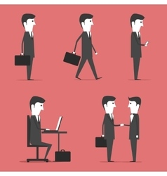 Buisness People vector image vector image