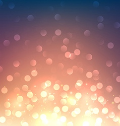 Sunset defocused background vector image vector image