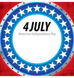 4th july independence day background vector