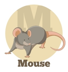 ABC Cartoon Mouse2 vector image