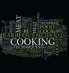 Barbeque wood chips text background word cloud vector