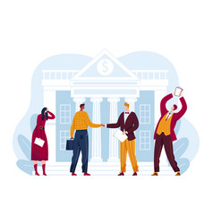 Bargain sale share building house stock market vector