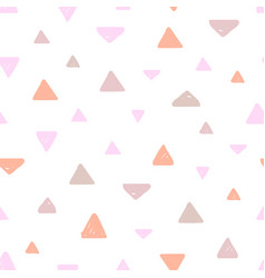 Hand drawn pastel seamless pattern for kids design vector