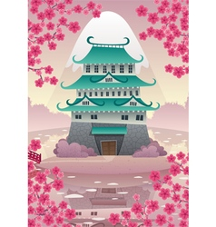 Japanese Castle vector
