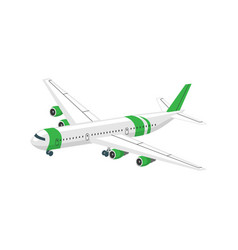 Plane isometric icon vector