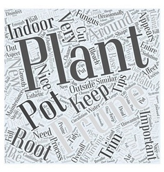 Pruning and Maintenance Tips for Indoor Plants vector