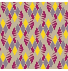 retro diamond repeat pattern 4 vector image