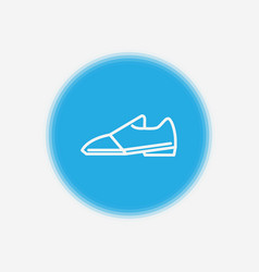 shoes icon sign symbol vector image