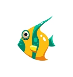 Striped Fish vector