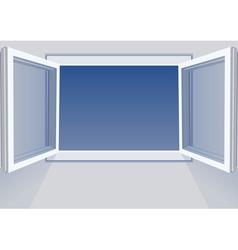 Windows open vector