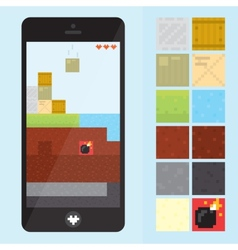 Game level for gadgets vector image