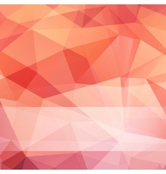 abstract triangle mesh background vector image vector image