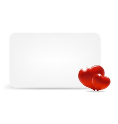 Heart Note vector image vector image