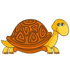 Turtle Cartoon african wild animal character vector image vector image
