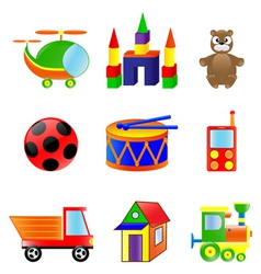 babies toys vector image vector image