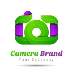 Photography studio photographer photo logo vector image