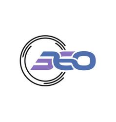 360 figure technology logo vector
