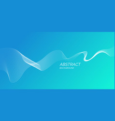 Abstract background with a dynamic waves of vector