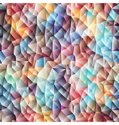 Colorful low poly graphic background vector
