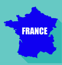 flag of france in a flat vector image