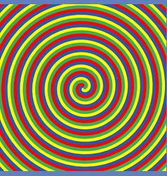 Hipnotic color circle vector