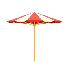 Sun umbrella beach accessory vector image vector image