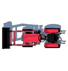 Tractor icon design eps10 vector image