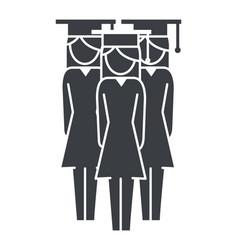 Women pictogram cartoon vector