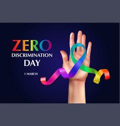 Zero discrimination day composition vector