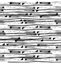 Hand drawn grunge simple lines Seamless pattern vector image