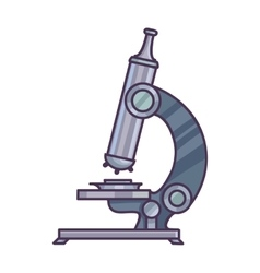 Microscope Science concept vector image vector image