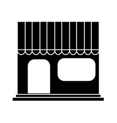 store frontview icon image vector image vector image