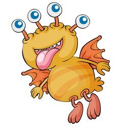 creature vector image